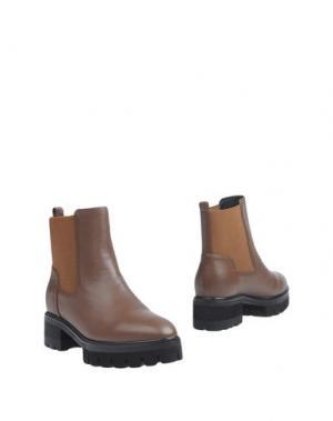 Полусапоги и высокие ботинки ATELIER MERCADAL. Цвет: коричневый