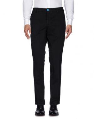 Повседневные брюки DIMATTIA. Цвет: стальной серый