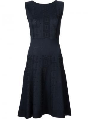 Платье без рукавов Maison Ullens. Цвет: чёрный