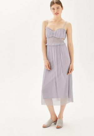 Платье Topshop. Цвет: фиолетовый