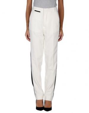 Повседневные брюки BLK DNM. Цвет: белый