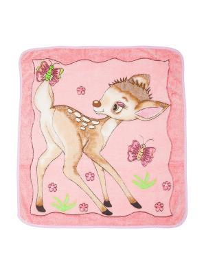 Плед M-BABY. Цвет: розовый