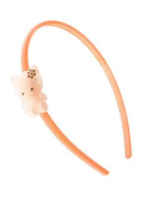 Ободок LITTLE MANIA. Цвет: бледно-розовый, оранжевый