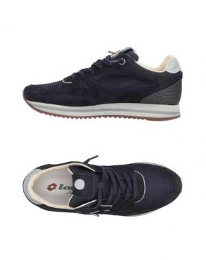 Низкие кеды и кроссовки LOTTO LEGGENDA. Цвет: темно-синий