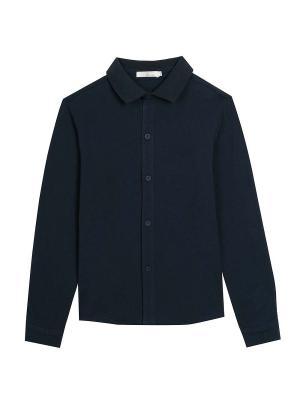Рубашка Vitacci. Цвет: темно-синий