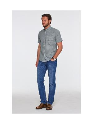 Рубашка Westrenger. Цвет: зеленый