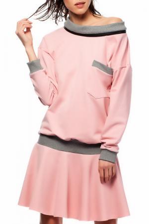 Платье BeWear. Цвет: розовый