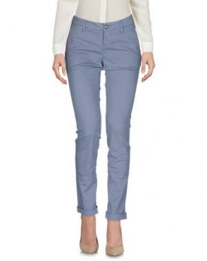 Повседневные брюки RE-HASH. Цвет: сиреневый