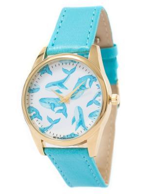 Часы наручные Mitya Veselkov. Цвет: голубой