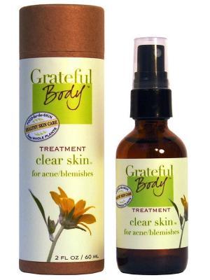 Очищающий спрей для проблемной кожи, 60 мл Grateful Body. Цвет: прозрачный