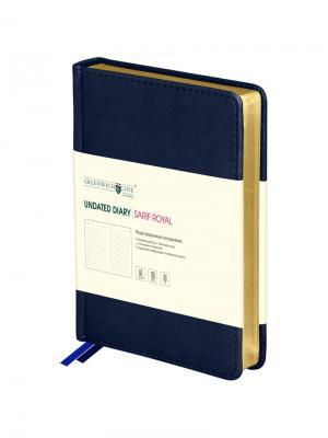 Ежедневник недатированный  Sarif Royal Greenwich Line. Цвет: синий