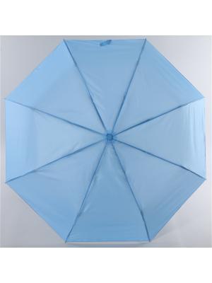 Зонт Torm, Женский, 3 сложения, Автомат,  Полиэстер Torm. Цвет: голубой