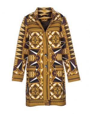 Легкое пальто CUSTO BARCELONA. Цвет: желтый