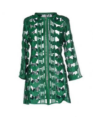 Легкое пальто CABAN ROMANTIC. Цвет: зеленый