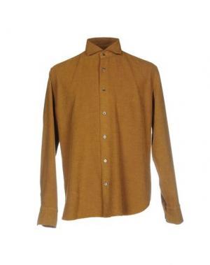 Pубашка DANOLIS. Цвет: охра