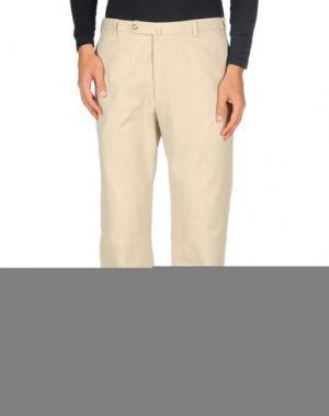 Джинсовые брюки G.T.A. MANIFATTURA PANTALONI. Цвет: бежевый