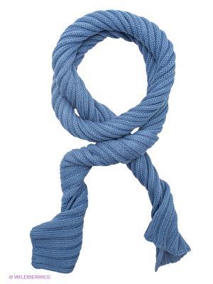 Шарф Passigatti. Цвет: синий