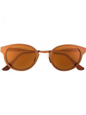 Солнцезащитные очки Panama Synthesis Retrosuperfuture. Цвет: металлический