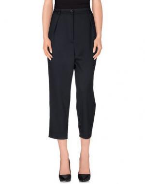 Повседневные брюки GARAGE NOUVEAU. Цвет: темно-синий