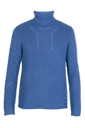 Водолазка Versace Collection. Цвет: голубой