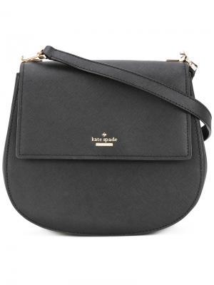 Saddle shoulder bag Kate Spade. Цвет: чёрный
