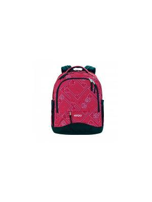 Рюкзак 4YOU COMPACT СЕРДЕЧКИ. Цвет: розовый
