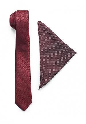 Комплект Burton Menswear London. Цвет: бордовый