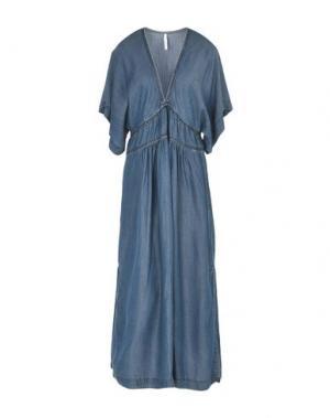 Длинное платье IMPERIAL. Цвет: синий