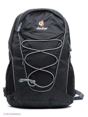 Рюкзак Deuter. Цвет: черный