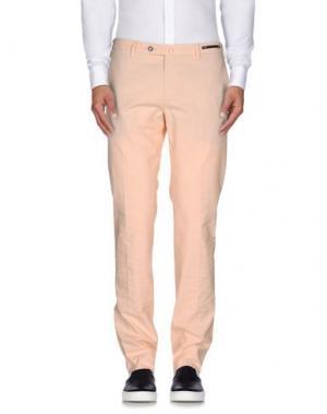 Повседневные брюки PT01. Цвет: лососево-розовый