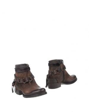 Полусапоги и высокие ботинки OVYE' BY CRISTINA LUCCHI. Цвет: темно-коричневый