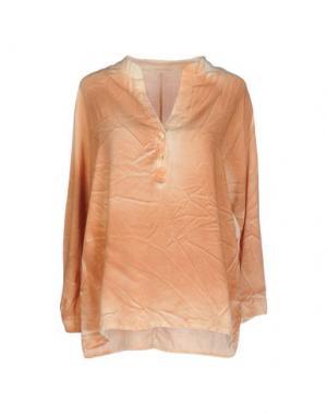 Блузка MONICA •LENDINEZ. Цвет: верблюжий