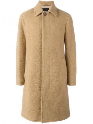 Длинное пальто реглан 3.1 Phillip Lim. Цвет: коричневый