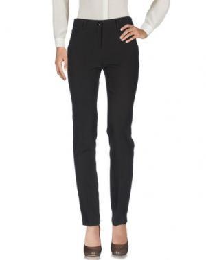 Повседневные брюки EDAS. Цвет: темно-коричневый