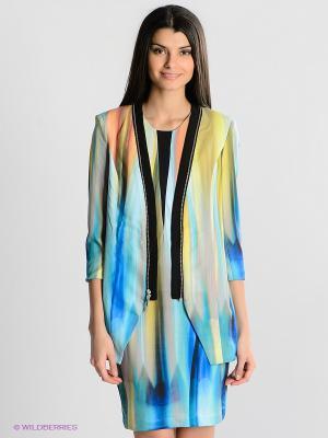 Жакет Vero moda. Цвет: салатовый, голубой, темно-зеленый