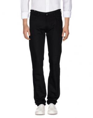 Джинсовые брюки NOTIFY. Цвет: темно-коричневый