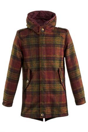 Пальто LOST IN ALBION. Цвет: красный