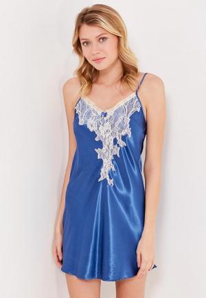 Сорочка ночная Mia-Amore. Цвет: синий