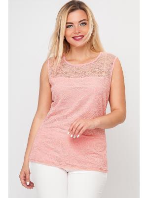 Блузки Limonti. Цвет: розовый