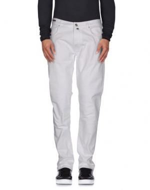 Джинсовые брюки PT05. Цвет: белый