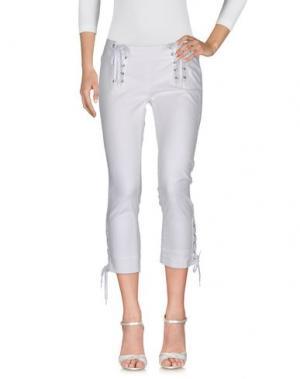 Джинсовые брюки JEAN'S PAUL GAULTIER. Цвет: белый