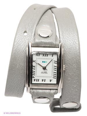 Часы La Mer Collections. Цвет: серый, серебристый