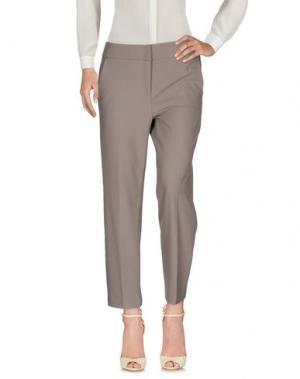 Повседневные брюки CAMBIO. Цвет: серый