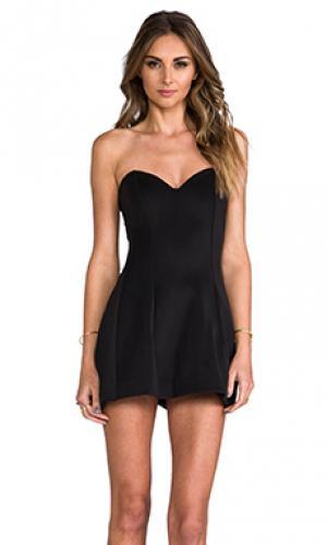 Платье ivy Boulee. Цвет: черный