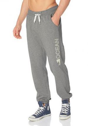 Брюки OCEAN Sportswear. Цвет: серый (меланж)