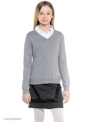 Пуловер Cleverly. Цвет: темно-серый