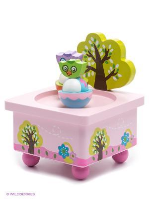 Волшебная коробочка Совушки MAPACHA. Цвет: розовый, салатовый, голубой, сиреневый