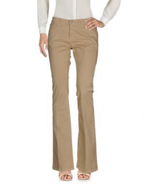 Повседневные брюки 40WEFT. Цвет: бежевый