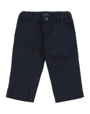 Джинсовые брюки U+E'. Цвет: темно-синий