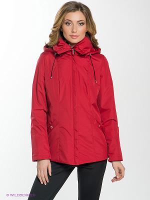 Куртка MISHEL Maritta. Цвет: красный